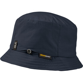 Jack Wolfskin Stow Away Chapeau seau, night blue